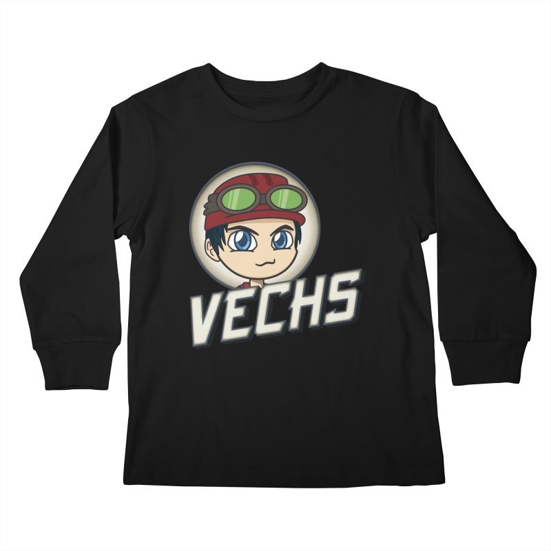 Vechs Logo Kids Longsleeve T-Shirt by All Things Vechs