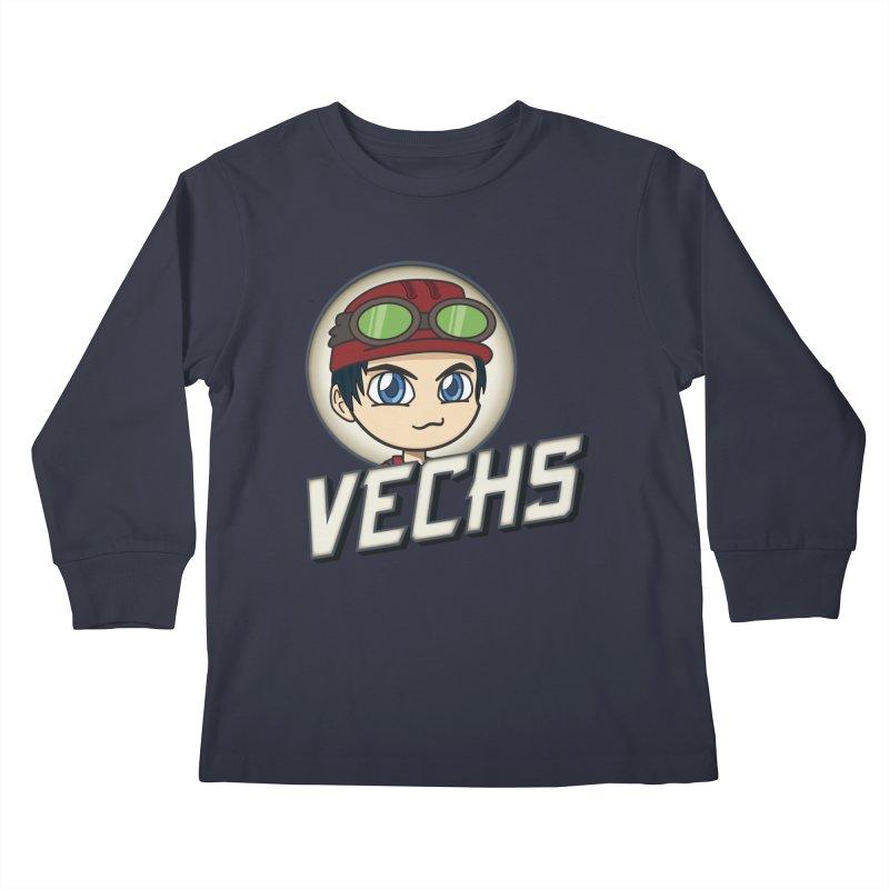 Vechs Logo Kids Longsleeve T-Shirt by All Things Vechs