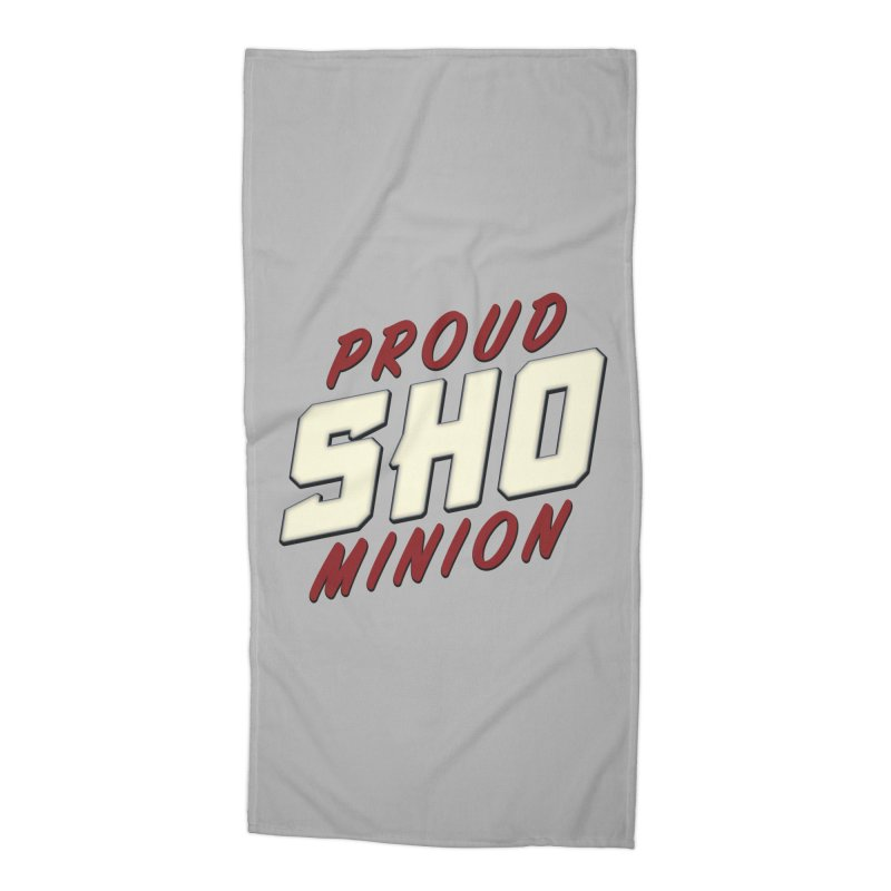 Proud SHO Minion Accessories Beach Towel by All Things Vechs