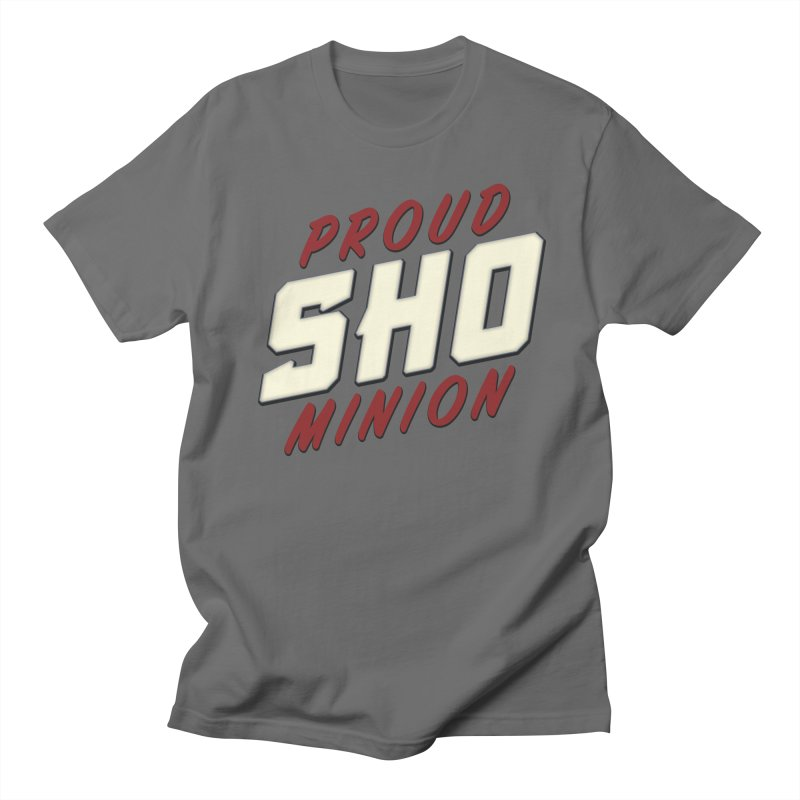 Proud SHO Minion Men's T-Shirt by All Things Vechs