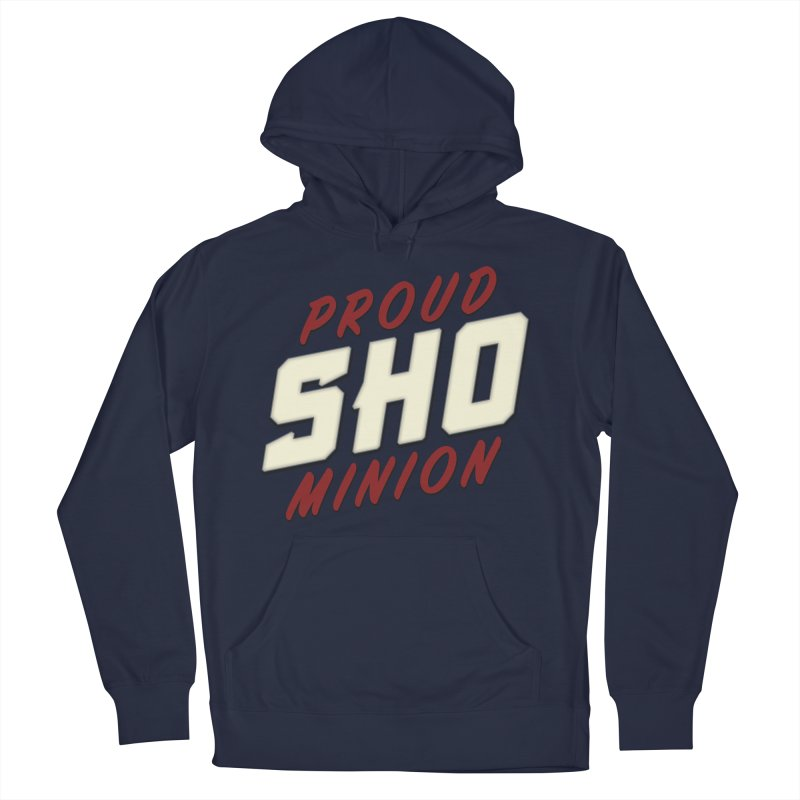 Proud SHO Minion Men's French Terry Pullover Hoody by All Things Vechs