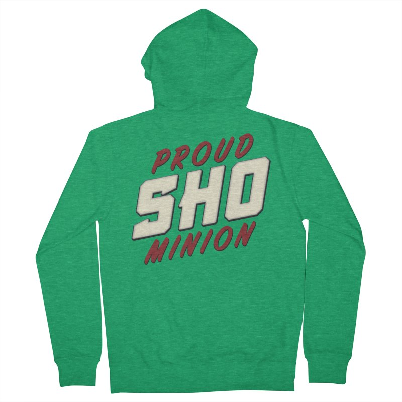 Proud SHO Minion Men's Zip-Up Hoody by All Things Vechs