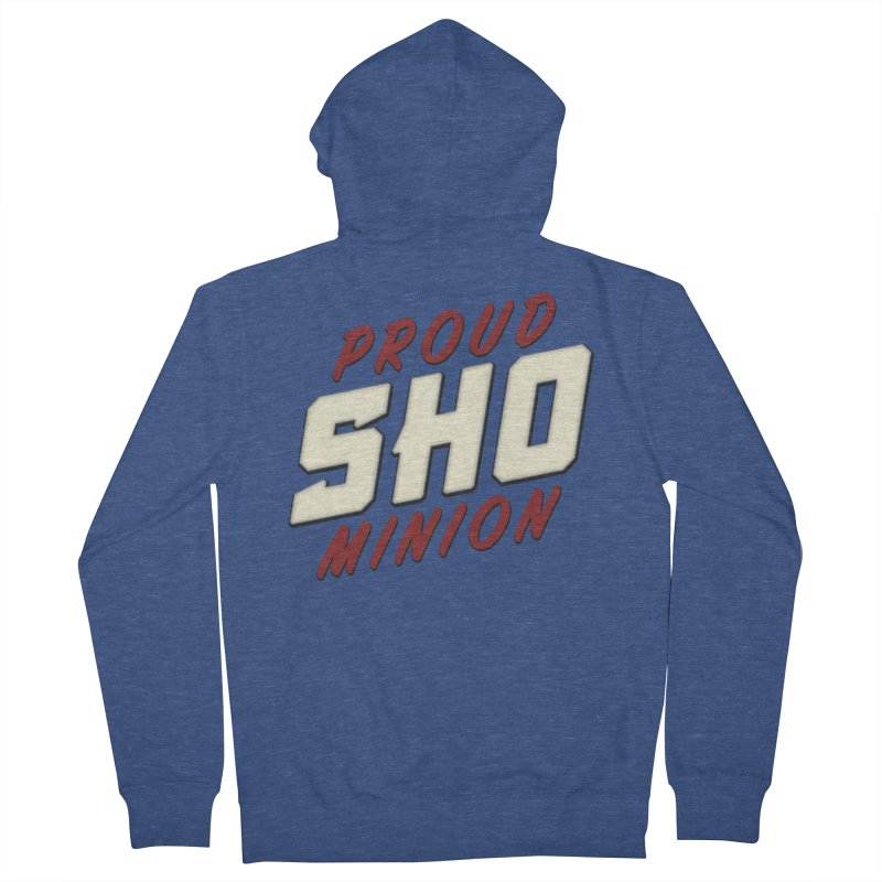 Proud SHO Minion Men's French Terry Zip-Up Hoody by All Things Vechs