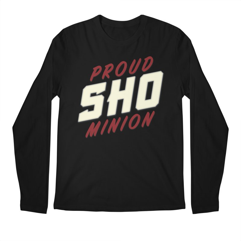 Proud SHO Minion Men's Regular Longsleeve T-Shirt by All Things Vechs