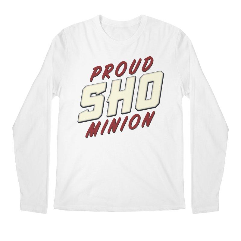 Proud SHO Minion Men's Regular Longsleeve T-Shirt by All Things Vechs