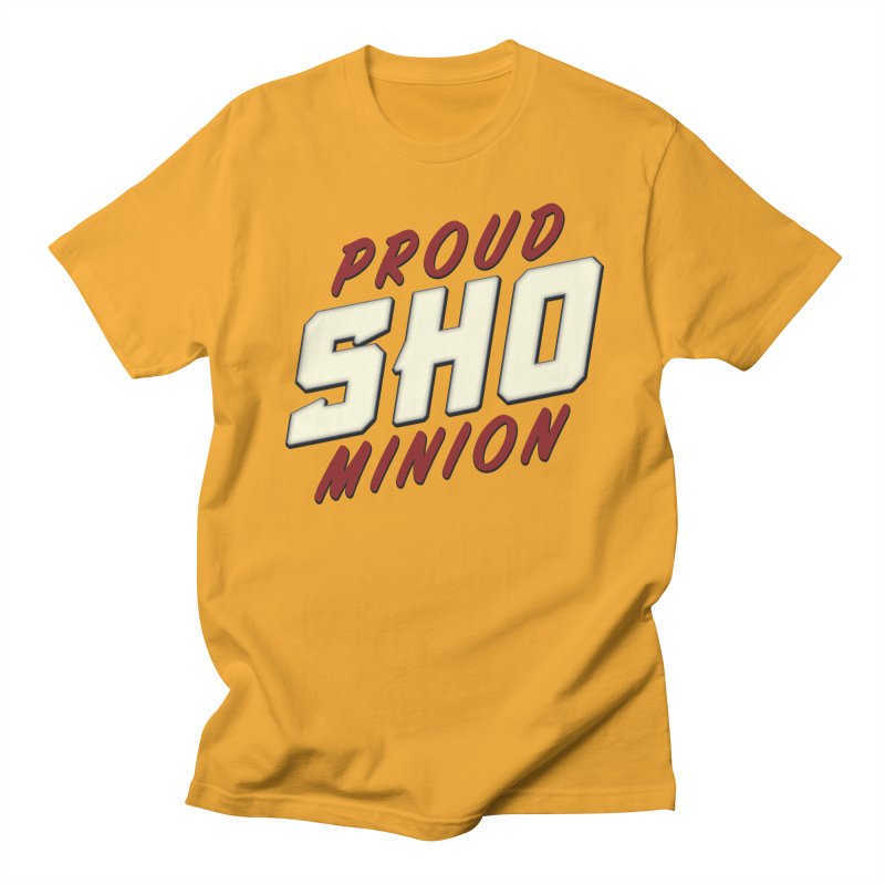 Proud SHO Minion Men's Regular T-Shirt by All Things Vechs