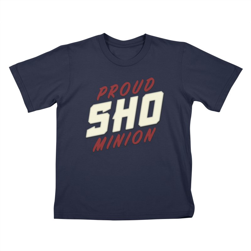 Proud SHO Minion Kids T-Shirt by All Things Vechs