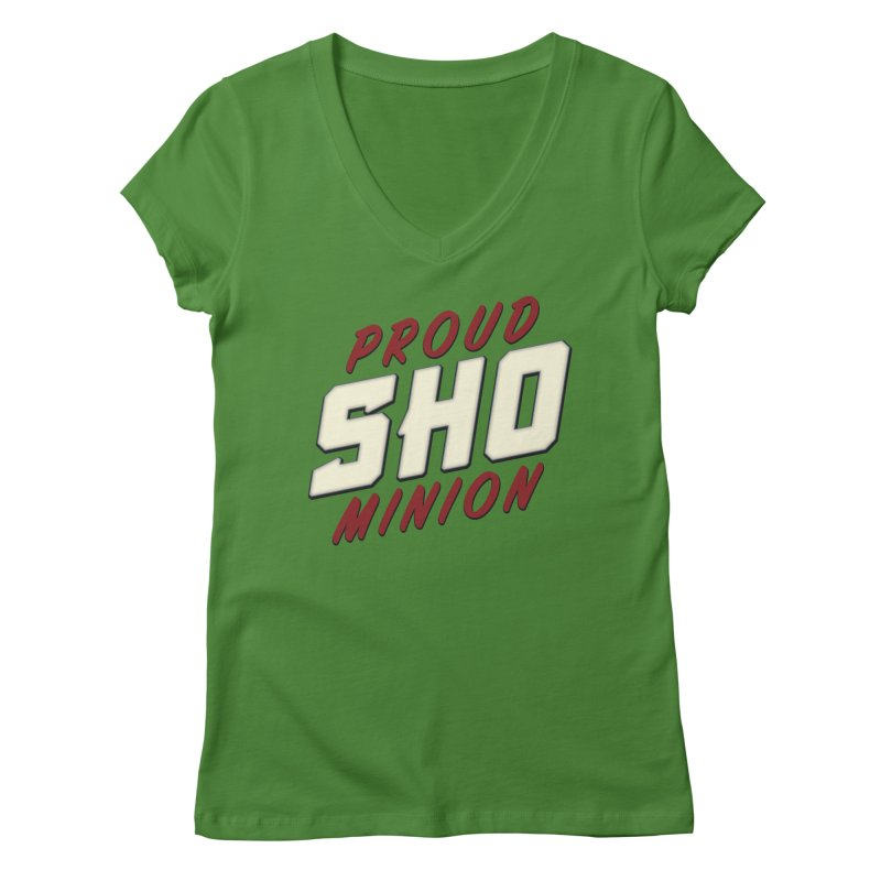 Proud SHO Minion Women's Regular V-Neck by All Things Vechs