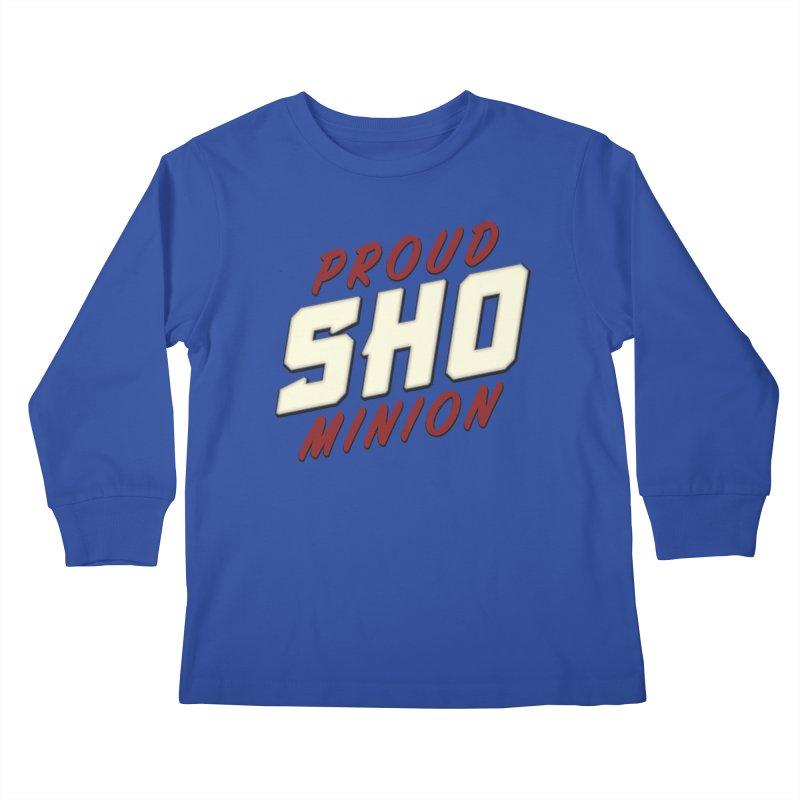 Proud SHO Minion Kids Longsleeve T-Shirt by All Things Vechs