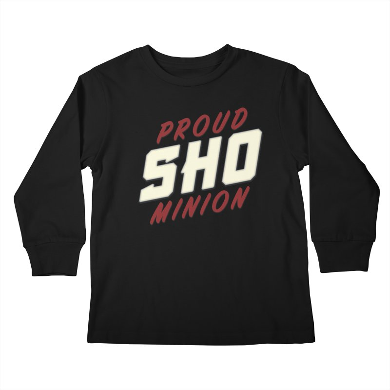 Proud SHO Minion Kids Longsleeve T-Shirt by All Things Vechs