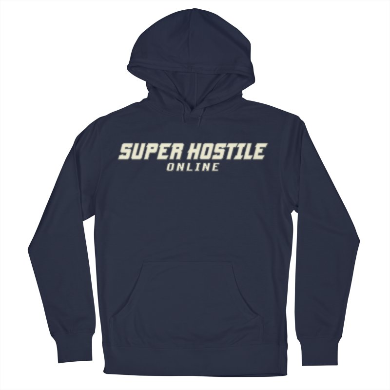 Super Hostile Online Men's Pullover Hoody by All Things Vechs