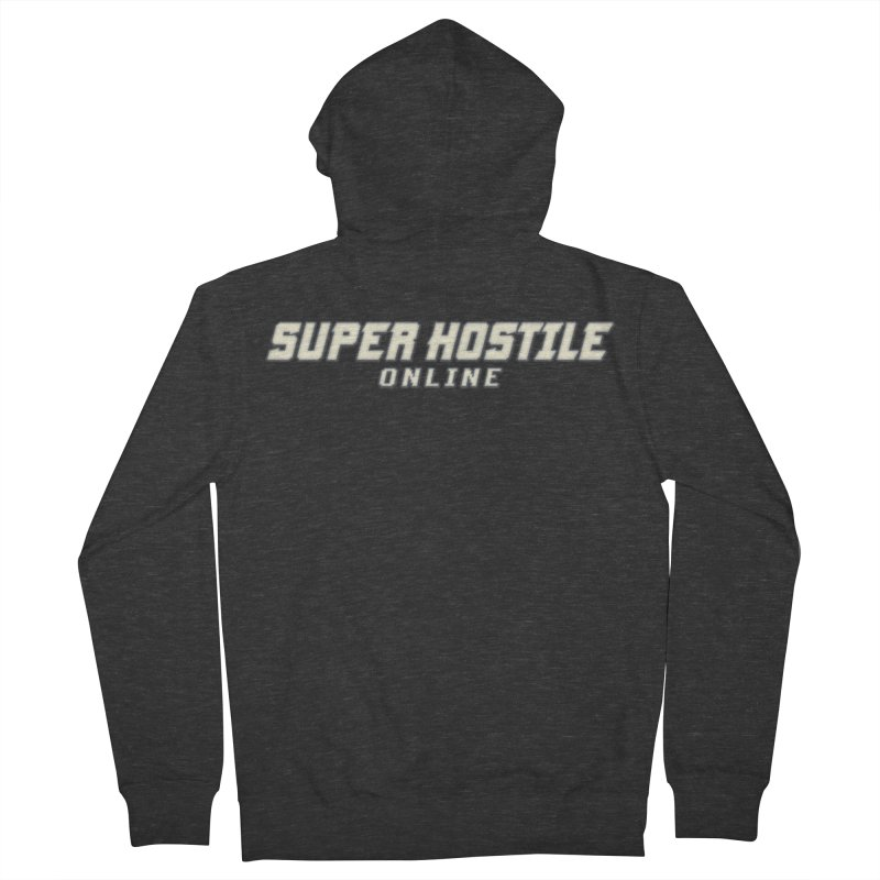 Super Hostile Online Women's French Terry Zip-Up Hoody by All Things Vechs
