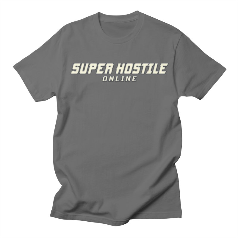 Super Hostile Online Men's T-Shirt by All Things Vechs