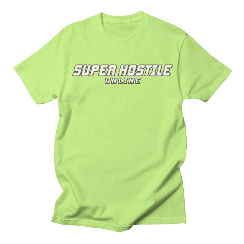 Super Hostile Online Women's Regular Unisex T-Shirt by All Things Vechs