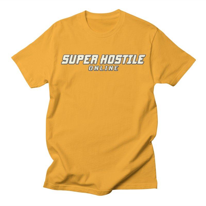 Super Hostile Online Men's Regular T-Shirt by All Things Vechs
