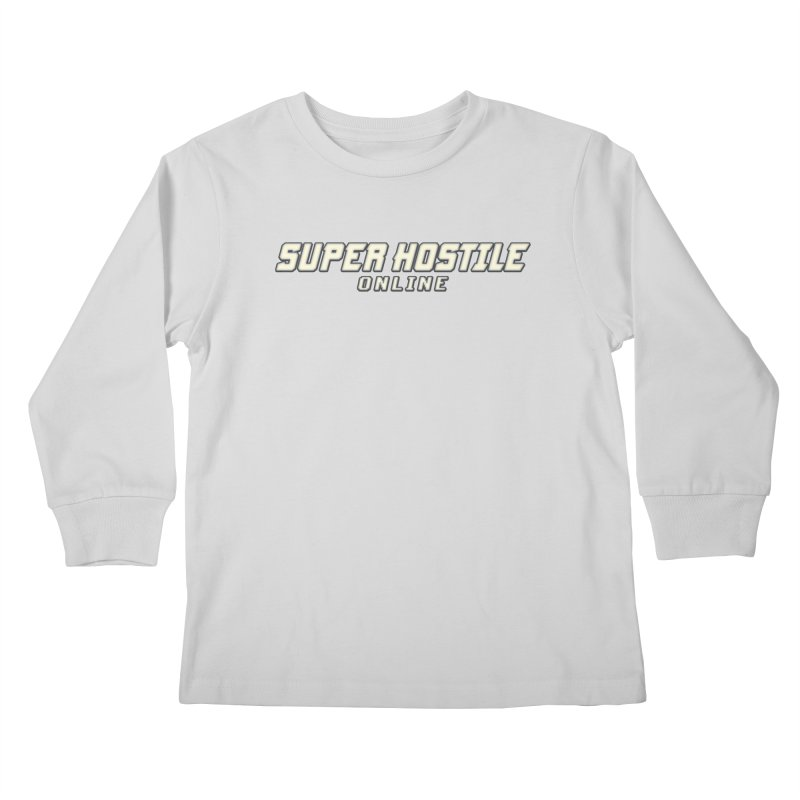 Super Hostile Online Kids Longsleeve T-Shirt by All Things Vechs