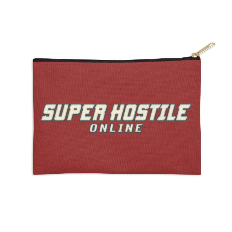Super Hostile Online Accessories Zip Pouch by All Things Vechs