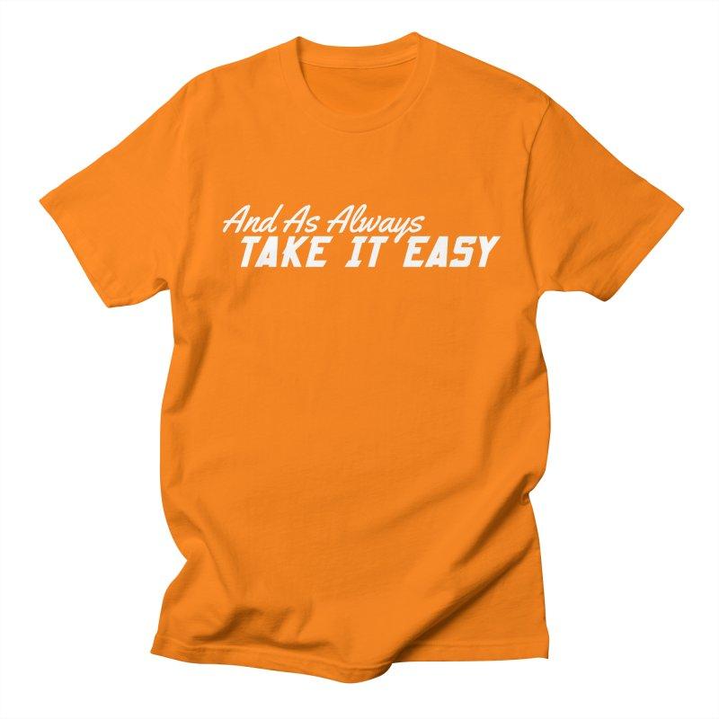 Take It Easy - Light Men's Regular T-Shirt by All Things Vechs