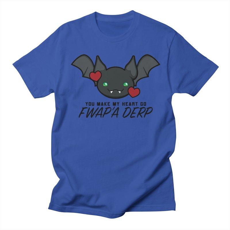 Fwap'a Derp Heart Women's Regular Unisex T-Shirt by All Things Vechs