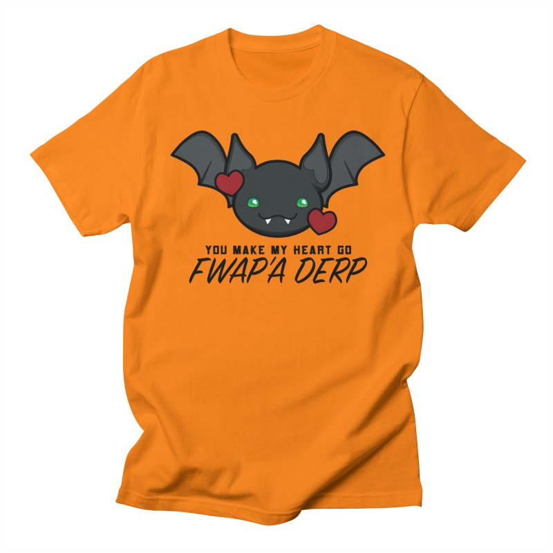 Fwap'a Derp Heart Men's Regular T-Shirt by All Things Vechs