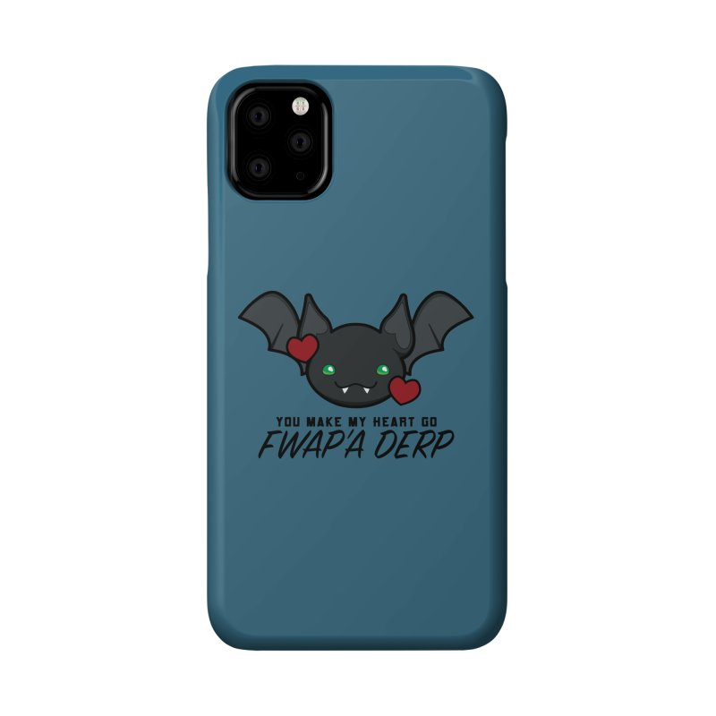 Fwap'a Derp Heart Accessories Phone Case by All Things Vechs