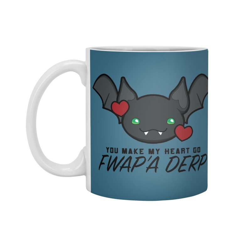 Fwap'a Derp Heart Accessories Standard Mug by All Things Vechs