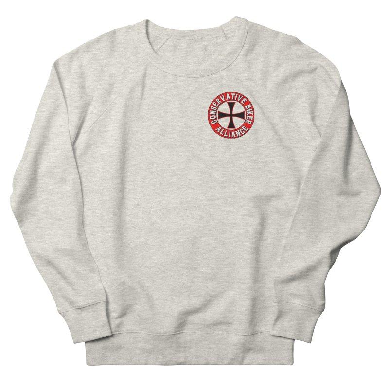 Conservative Biker Alliance Men's Sweatshirt by Vegans Choice Motorcycle Club