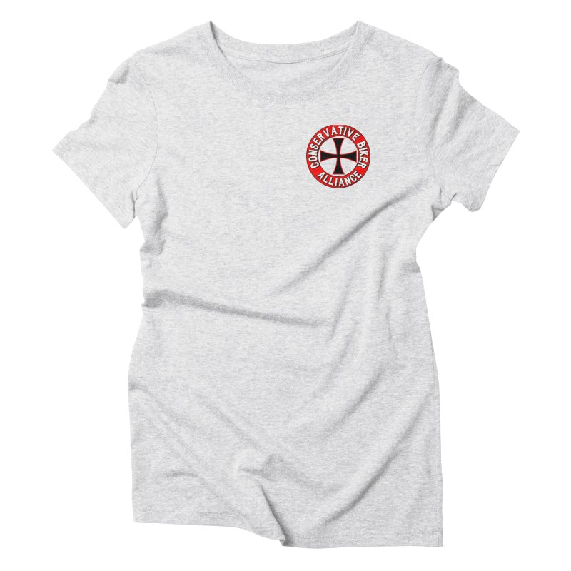 Conservative Biker Alliance Women's T-Shirt by Vegans Choice Motorcycle Club
