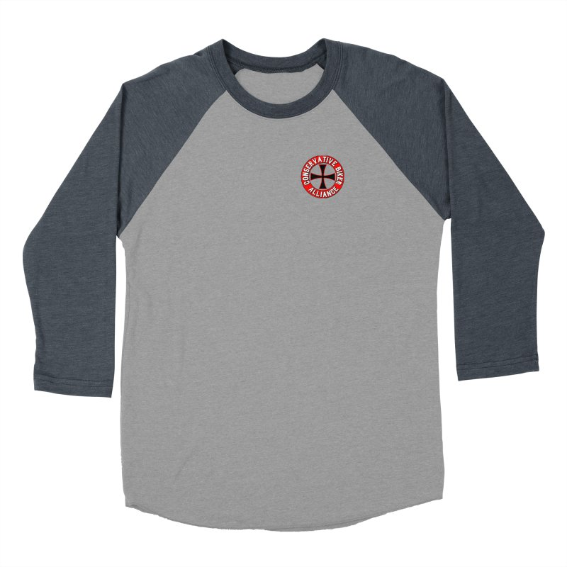 Conservative Biker Alliance Women's Longsleeve T-Shirt by Vegans Choice Motorcycle Club