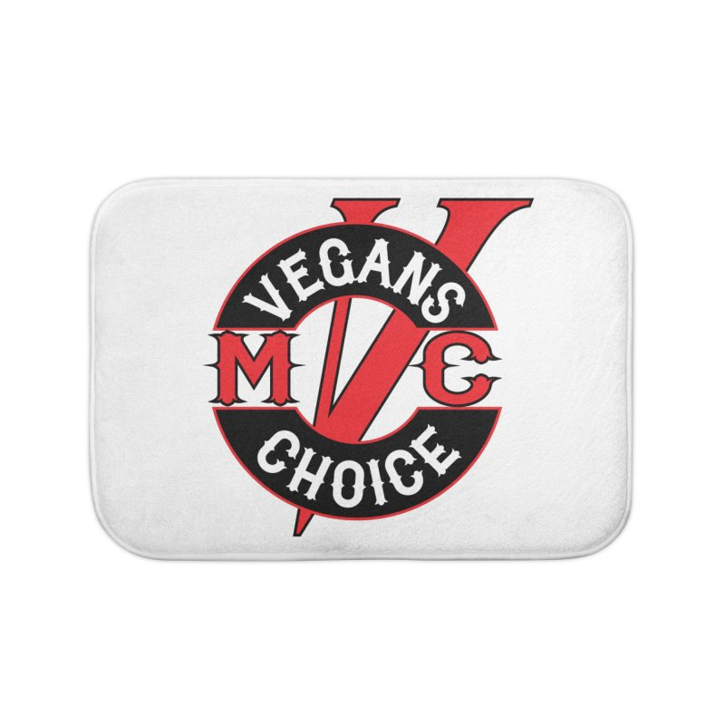VCMC Home Bath Mat by Vegans Choice Motorcycle Club
