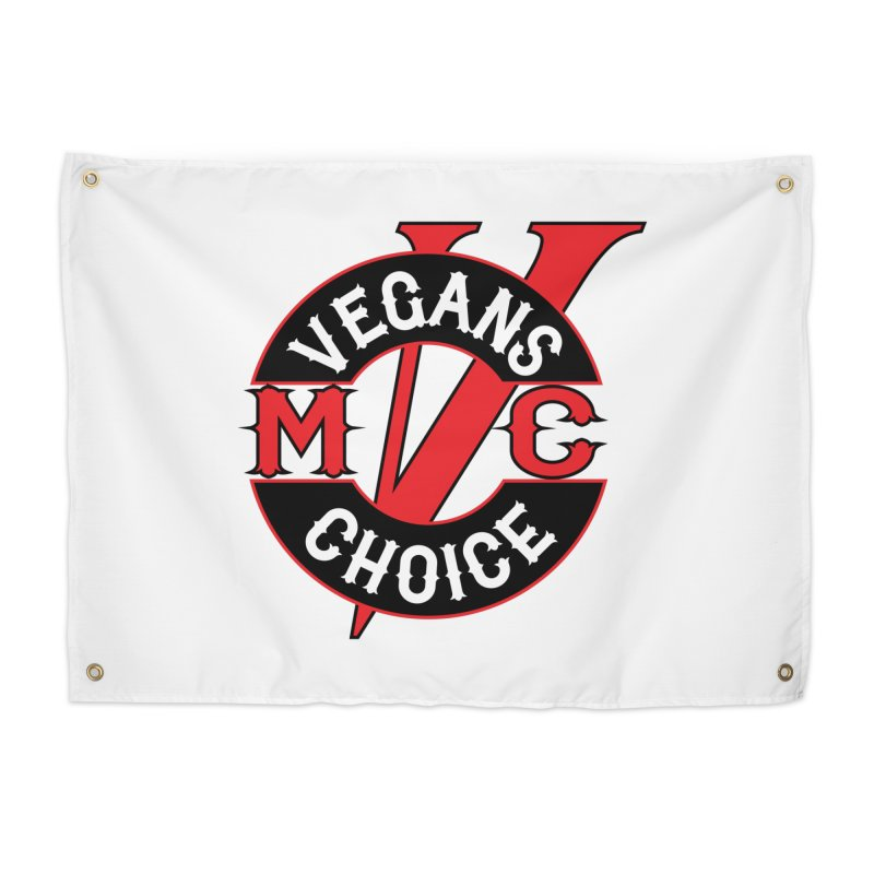 VCMC Home Tapestry by Vegans Choice Motorcycle Club
