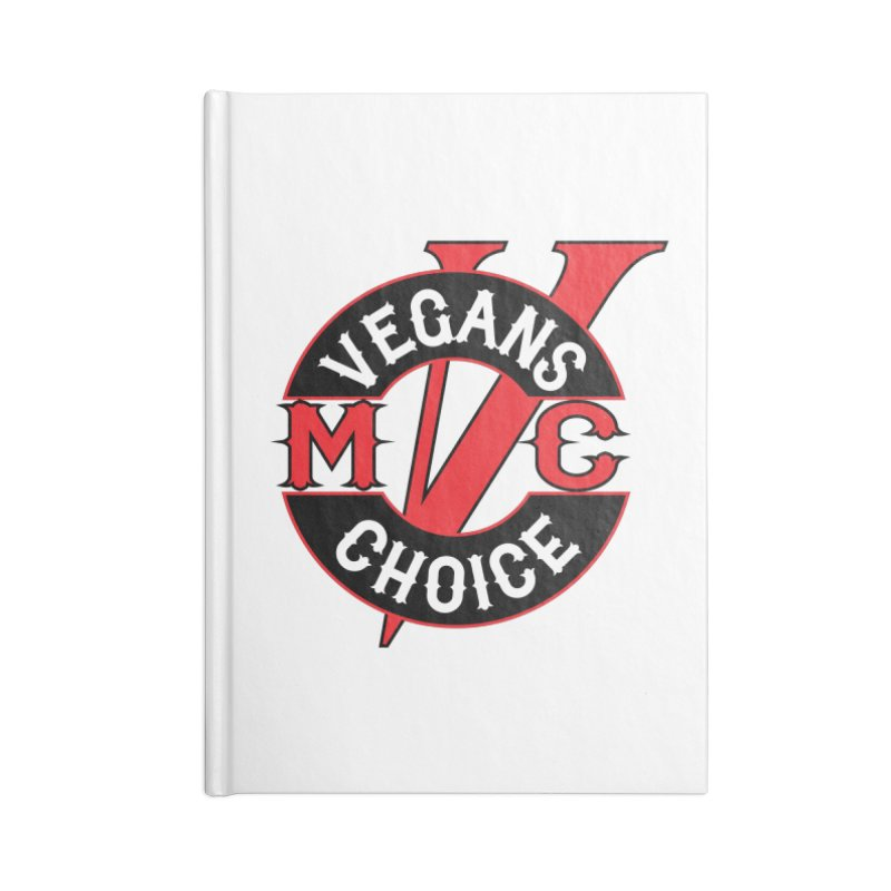 VCMC Accessories Notebook by Vegans Choice Motorcycle Club