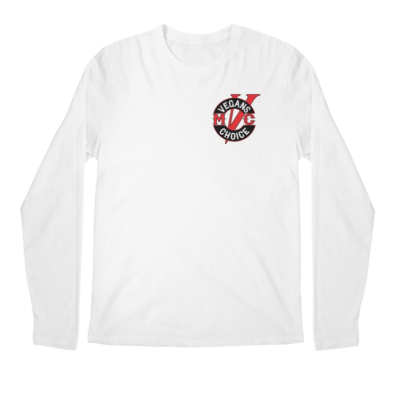 VCMC Men's Regular Longsleeve T-Shirt by Vegans Choice Motorcycle Club