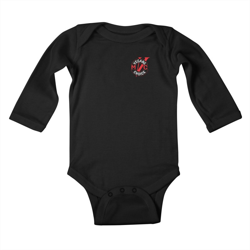 VCMC Kids Baby Longsleeve Bodysuit by Vegans Choice Motorcycle Club