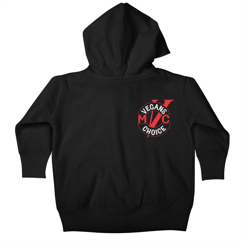 VCMC Kids Baby Zip-Up Hoody by Vegans Choice Motorcycle Club
