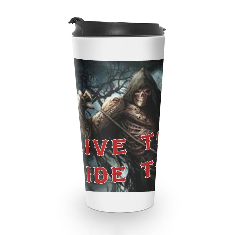 Live to Ride Reaper Accessories Mug by Vegans Choice Motorcycle Club