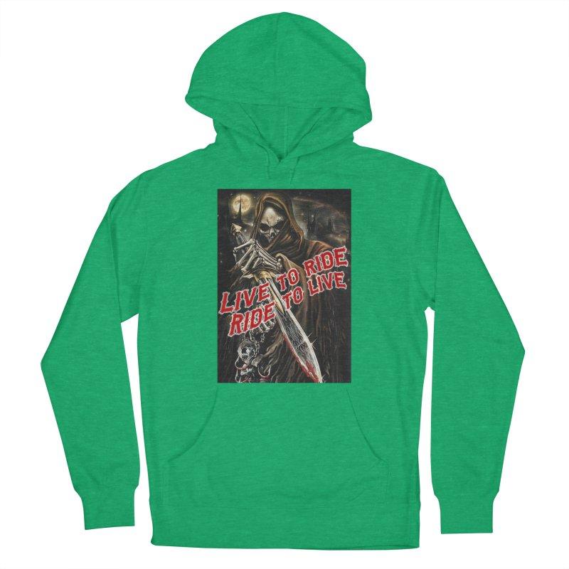 Reaper 2 Women's Pullover Hoody by Vegans Choice Motorcycle Club