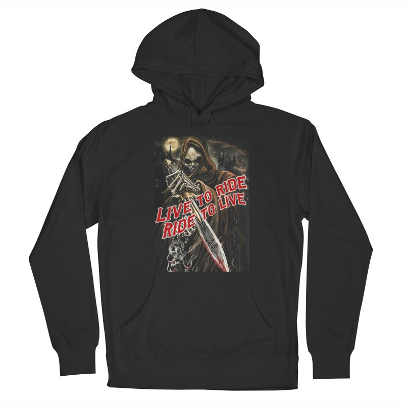 Reaper 2 Women's Pullover Hoody by Vegans Choice Motorcycle Club