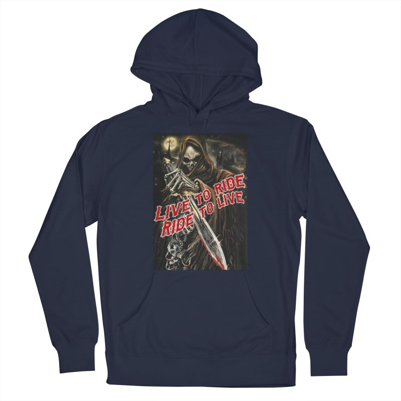 Reaper 2 Men's Pullover Hoody by Vegans Choice Motorcycle Club