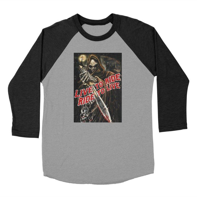 Reaper 2 Women's Longsleeve T-Shirt by Vegans Choice Motorcycle Club