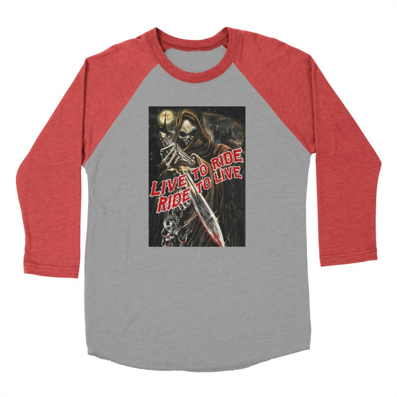 Reaper 2 Men's Longsleeve T-Shirt by Vegans Choice Motorcycle Club