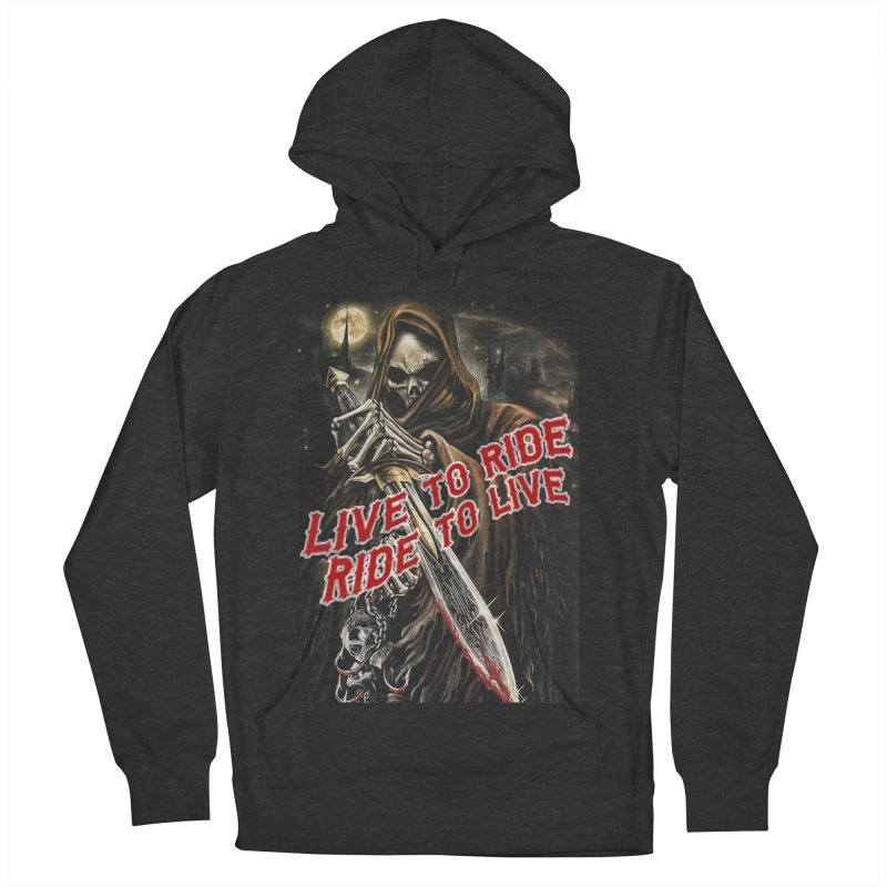 Reaper 2 Women's French Terry Pullover Hoody by Vegans Choice Motorcycle Club