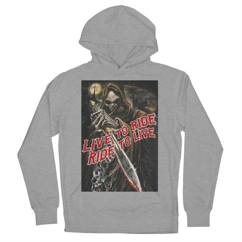 Reaper 2 Men's French Terry Pullover Hoody by Vegans Choice Motorcycle Club