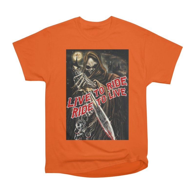 Reaper 2 Men's T-Shirt by Vegans Choice Motorcycle Club