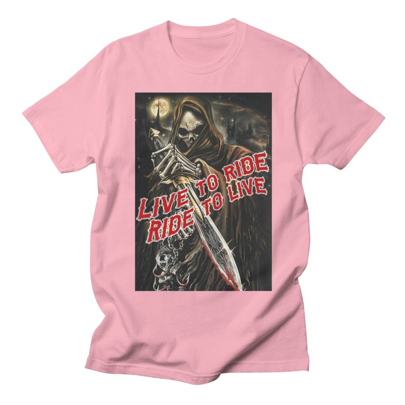 Reaper 2 Men's Regular T-Shirt by Vegans Choice Motorcycle Club