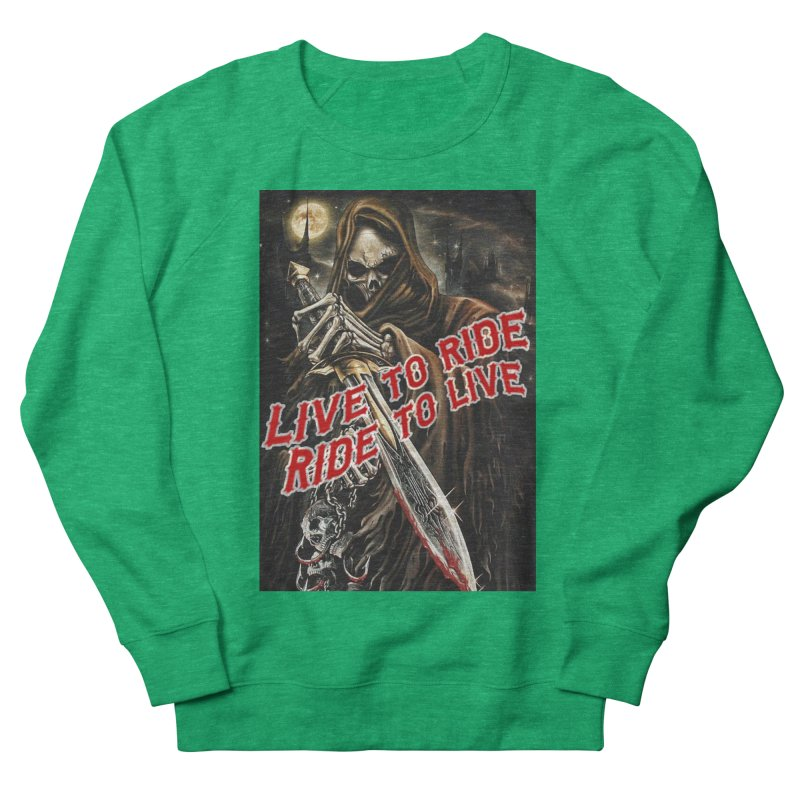 Reaper 2 Women's Sweatshirt by Vegans Choice Motorcycle Club