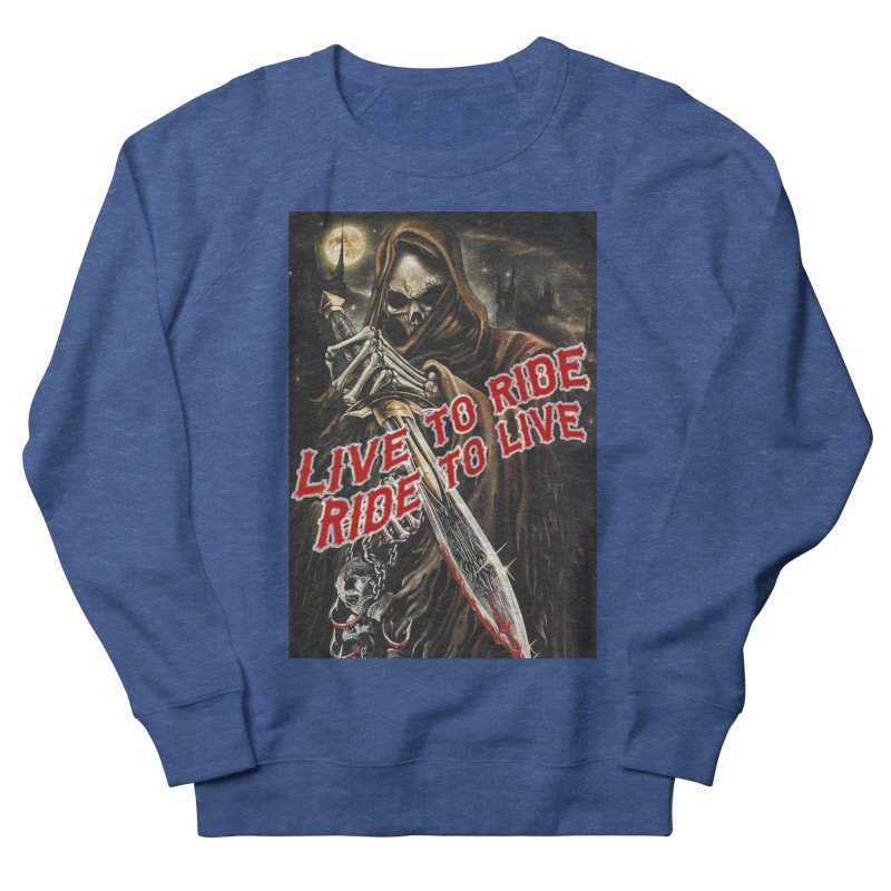 Reaper 2 Men's Sweatshirt by Vegans Choice Motorcycle Club