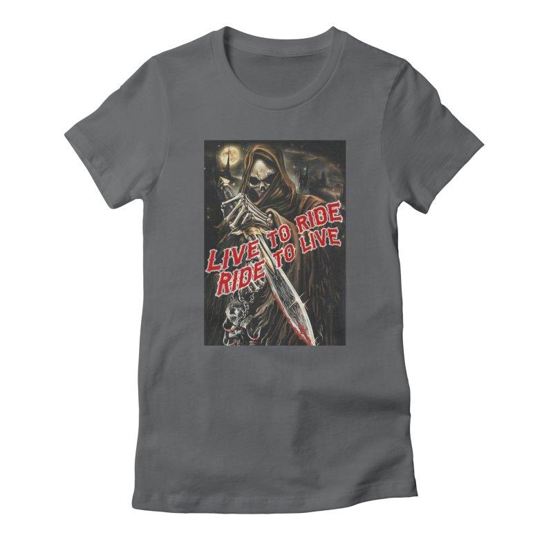 Reaper 2 Women's T-Shirt by Vegans Choice Motorcycle Club