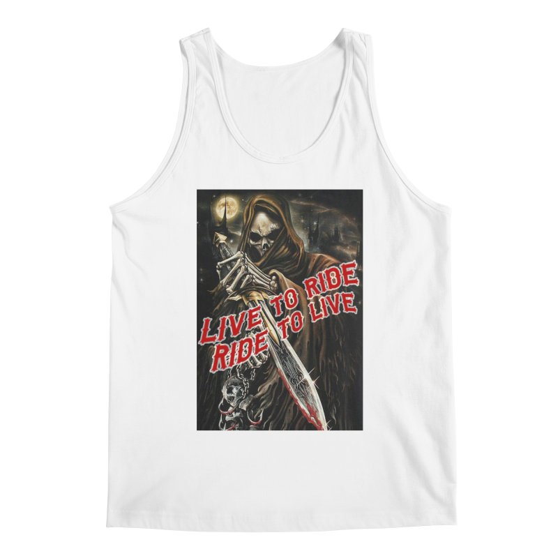 Reaper 2 Men's Tank by Vegans Choice Motorcycle Club