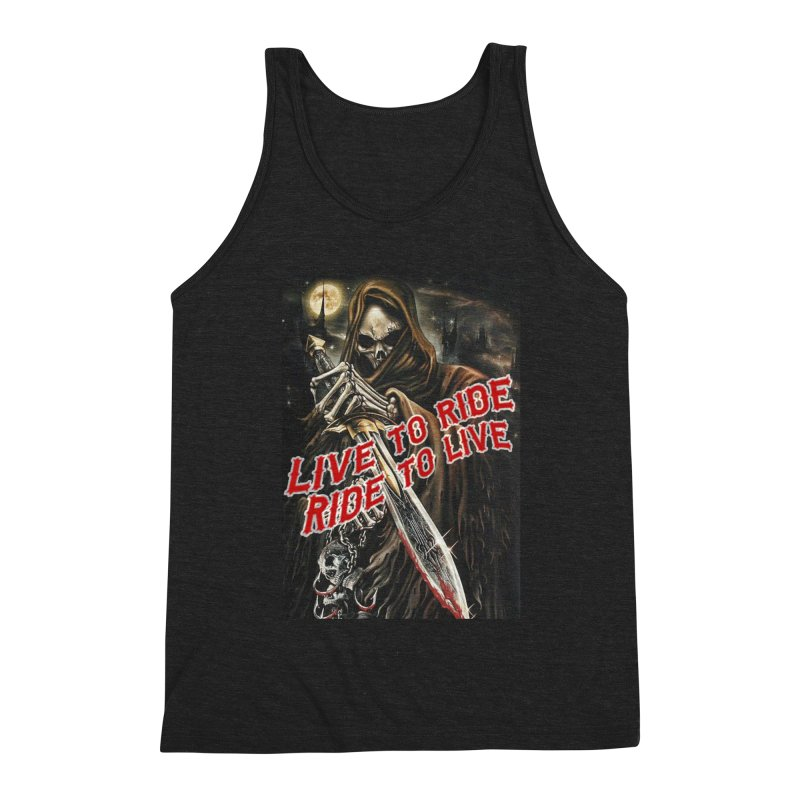 Reaper 2 Men's Tank by Vegans Choice Motorcycle Club
